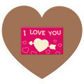 Plytelė širdis XL I love you